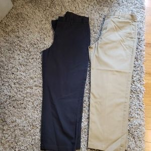 2 pairs of Dockers pants